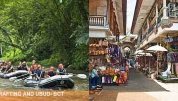 Rafting and Ubud Tour