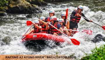 Rafting and Kintamani Tour